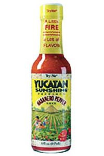 Picture of TryMe Yucatan Sunshine Habanero Pepper Sauce