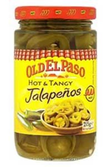 Picture of Hot & Tangy Green Jalapenos