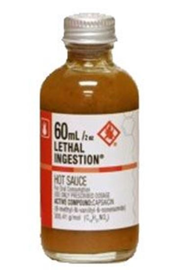 Picture of Lethal Ingestion Hot Sauce