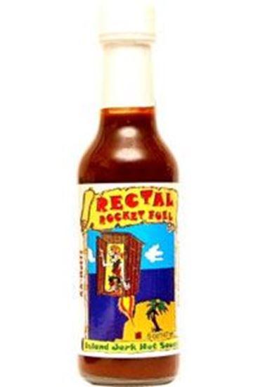 Picture of Rectal Rocket Fuel Island Jerk Hot Sauce