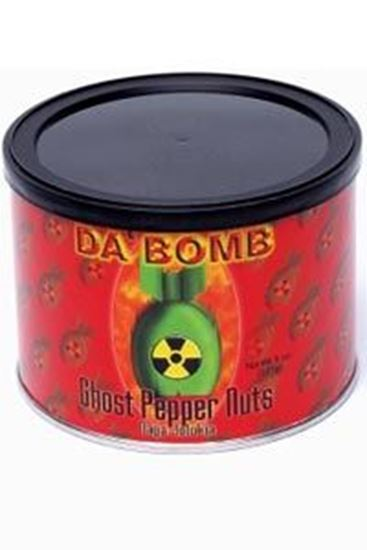 Picture of Da' Bomb Ghost Pepper Nuts - Naga Jolokia