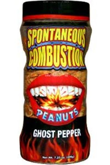 Picture of Spontaneous Combustion Ghost Pepper Peanuts