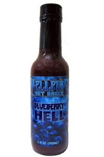 Picture of Hellfire Blueberry Hell Hot Sauce