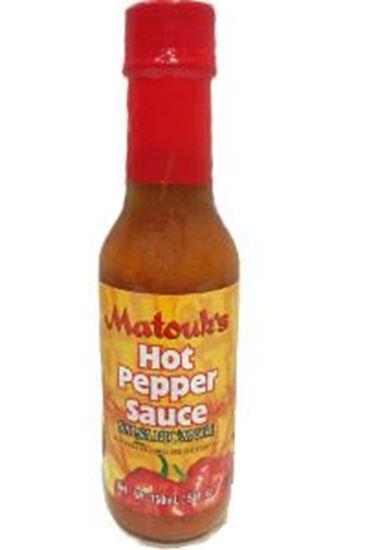 Picture of Matouk's Hot Pepper Sauce 5oz