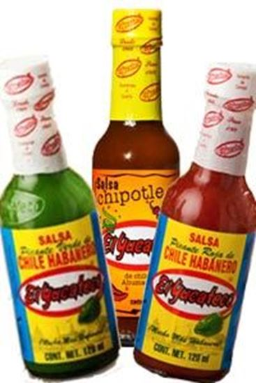 Picture of El Yucateco Green, Red & Chipotle 3 Pack