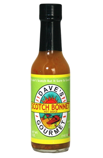 Picture of Dave's Gourmet Scotch Bonnet Sauce