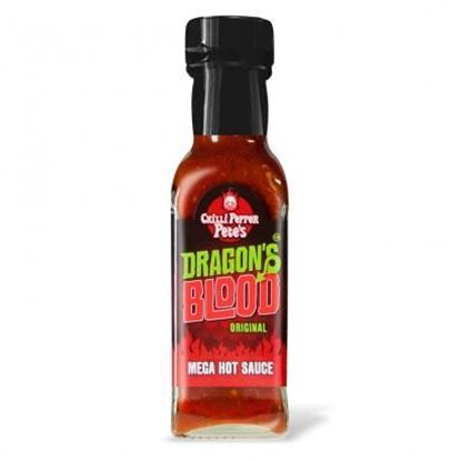 Picture of Chilli Pepper Pete's Dragon's Blood Original Mega Hot Sauce