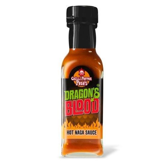 Picture of Chilli Pepper Pete's Dragon's Blood Hot Naga Sauce