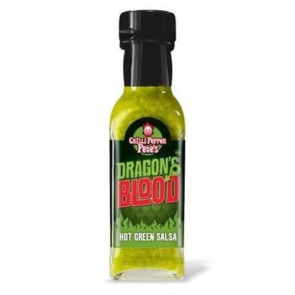 Picture of Chilli Pepper Pete's Dragon's Blood Hot Green Salsa