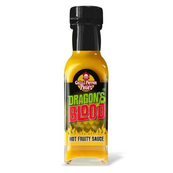 Picture of Chilli Pepper Pete's Dragon's Blood Hot Fruity Sauce