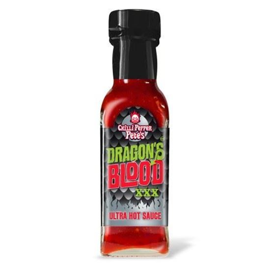 Picture of Chilli Pepper Pete's Dragon's Blood XXX Ultra Hot Sauce