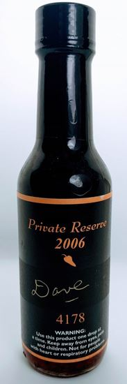 Picture of Dave's Gourmet Insanity Private Reserve 2006