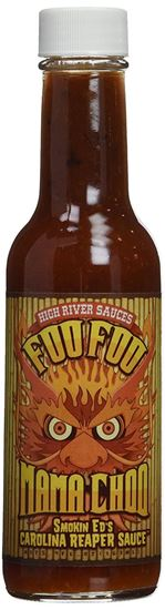 Picture of High River Sauces Foo Foo Mama Choo Smokin Ed's Carolina Reaper Sauce