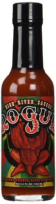 Picture of High River Sauces Rogue Moruga Blood Orange Scorpion Pepper Sauce