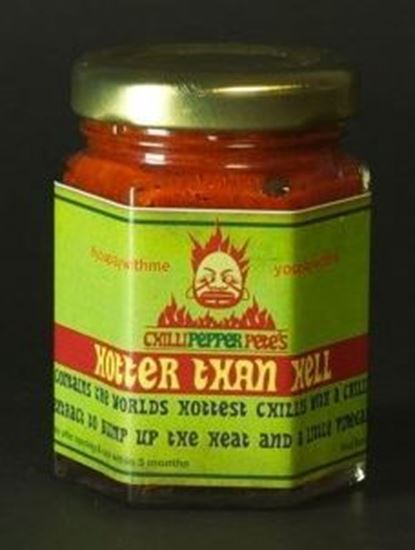 Picture of Chilli Pepper Pete's Hotter Than Hell Chilli Paste