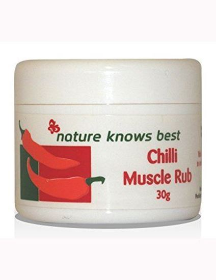 Picture of Nature Knows Best Chilli Muscle Rub