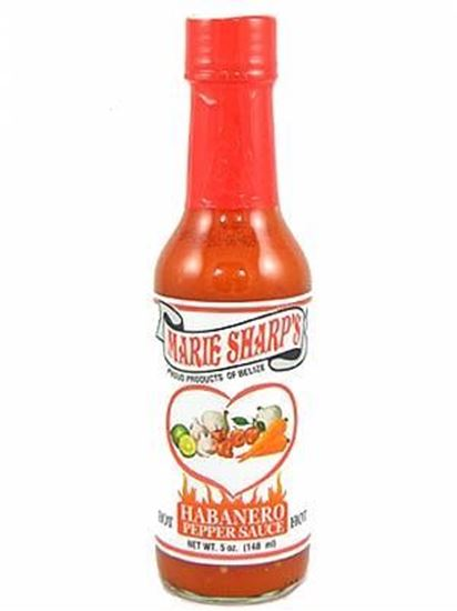 Picture of Marie Sharp's Hot Habanero Pepper Sauce