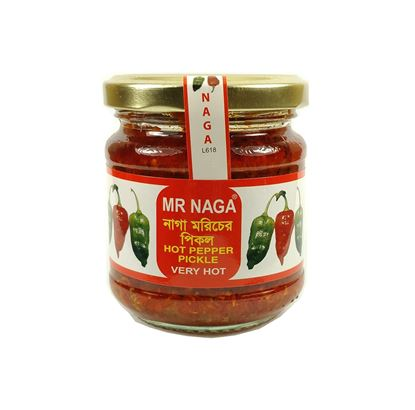 Picture of Mr Naga Hot Pepper Pickle - Very Hot