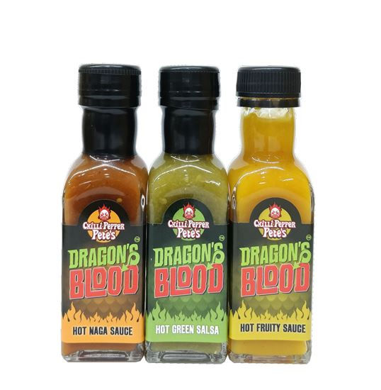 Picture of Chilli Pepper Pete's Dragon's Blood Bundle