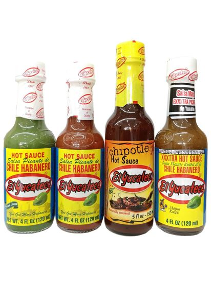 Picture of El Yucateco Hot Sauce Bundle Offer