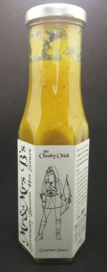 Picture of Mr & Mrs B's Seriously Buzzin' Cheeky Chick Aji Amarillo Hot Sauce