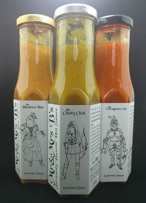 Picture of Mr & Mrs B's Seriously Buzzin' Gourmet Hot Sauce  Bundle