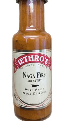 Picture of Jethro's Naga Fire chilli sauce